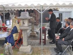 長谷工・金たい寺祈願祭