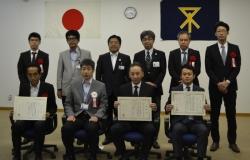 大阪市優良成績表彰式